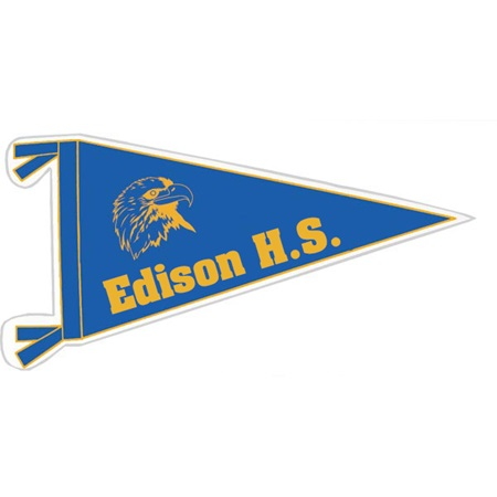 Bumper Sticker - Pennant