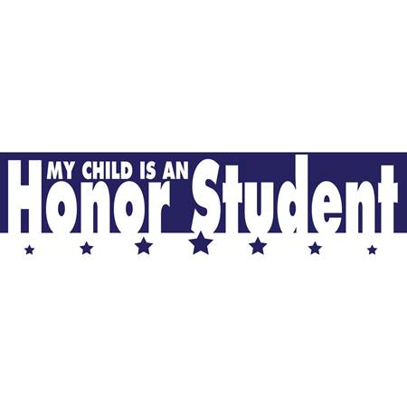My Child is An Honor Student Car Magnet