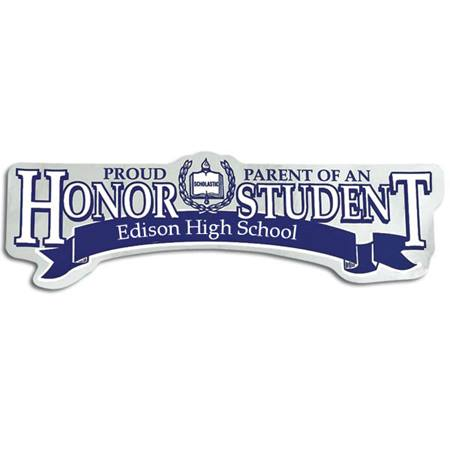 Super Service Honor Student Bumper Sticker