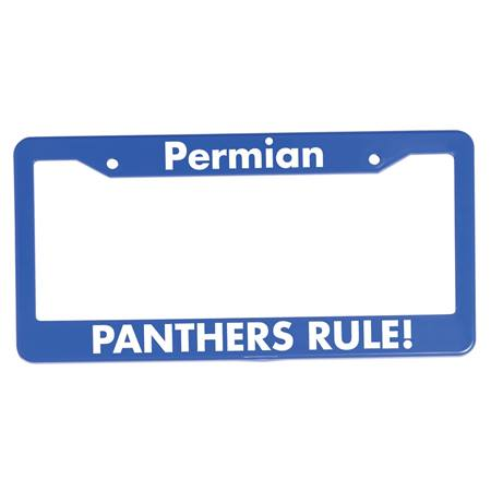 License Plate Frame, Two holes