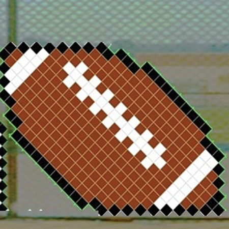Put-in-Cups Fence Decorations - Football