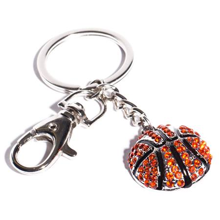 Bling Basketball Key Chain