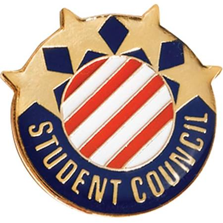 Student Council Award Pin – Stars & Stripes