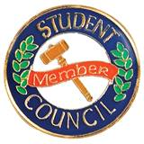 Student Council Award Pin – Member Gavel