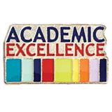 Academic Excellence Award Pin