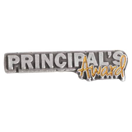 Principal's Award Pin - Silver and Gold