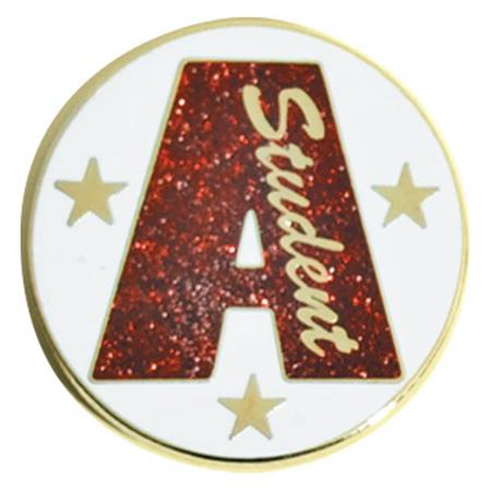 Honor Roll Award Pin – Glitter A Student