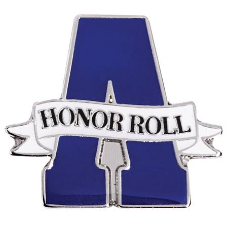 A Honor Roll Award Pin