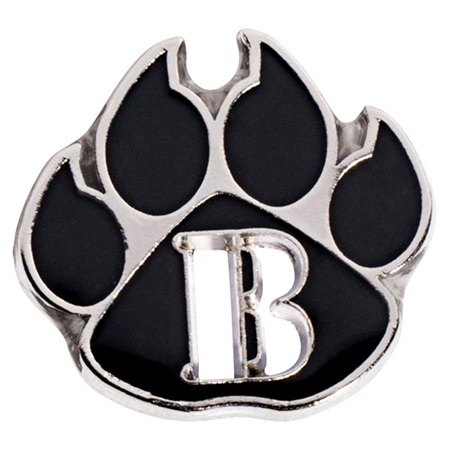 Honor Roll Award Pin - Paw with Die-cut B