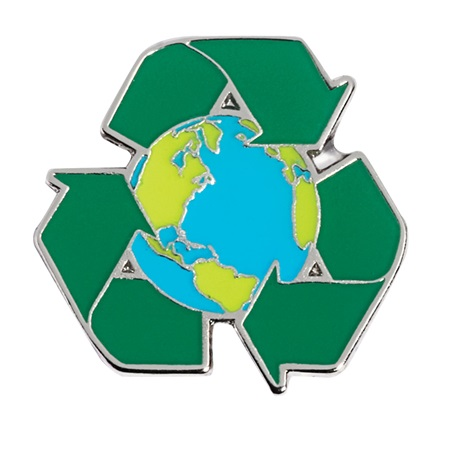 Recycle Award Pin