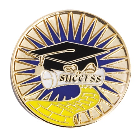Success/Graduation Award Pin