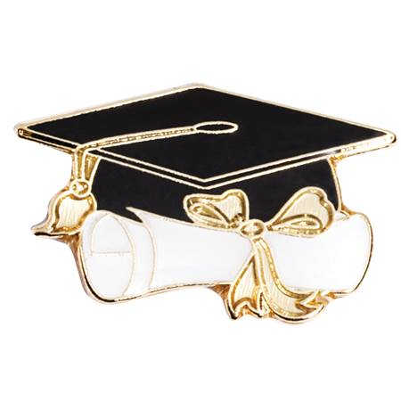 Cap/Diploma/Graduation Award Pin