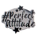Perfect Attitude Award Pin - Hashtag