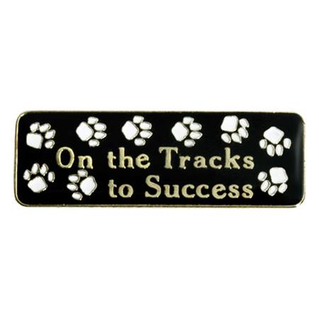 On The Tracks Pin