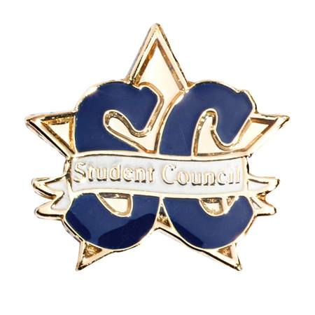 Student Council Star Award Pin