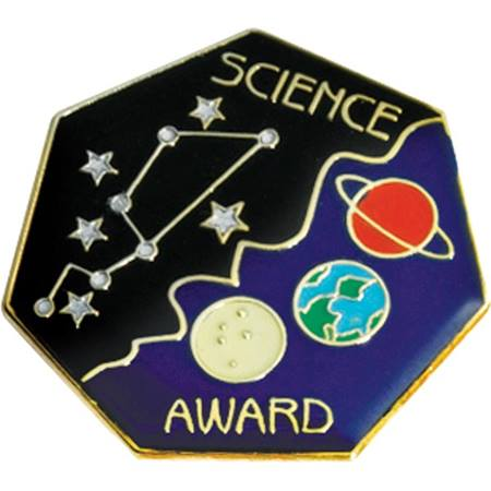 Science Award Pin – Galaxy