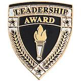 Leadership Award Pin – Torch & Shield