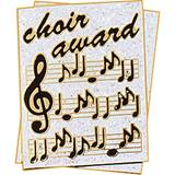 Choir Award Pin – Glitter Sheet Music