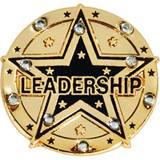 Leadership Award Pin – Goldtone with Rhinestones
