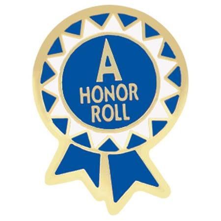 A Honor Roll Award Pin – Funky Blue Ribbon