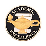 Academic Excellence Award Pin – In Honor of Academic Excellence