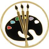 Art Award Pin – Brushes & Paint Palette