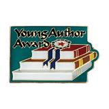 Young Author Award Books Pin