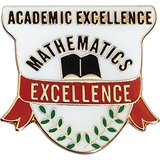 Math Award Pin – Mathematic Excellence