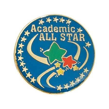 Academic All Star Pin