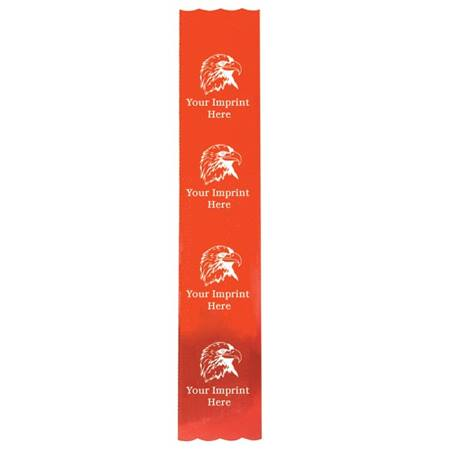 Custom Metallic Award Ribbon - 2 x 10