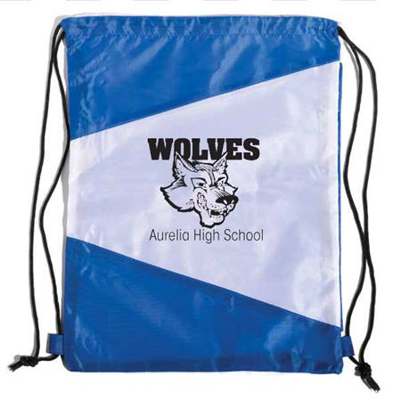 Pennant Drawstring Backpack