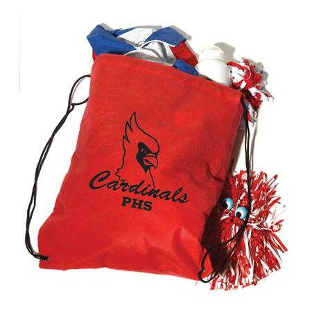 Handle Drawstring Bag