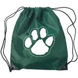 Paw Backpack - Green/White