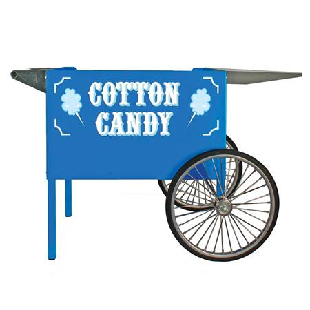 Blue Cotton Candy Cart