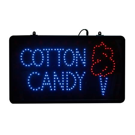 LED Cotton Candy Lighted Sign