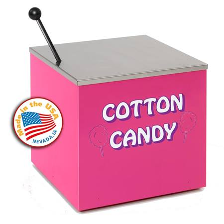 Small Pink Cotton Candy Stand