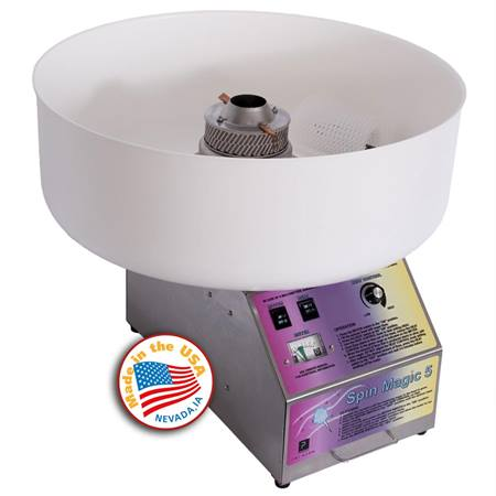 Spin Cotton Candy Machine with Plastic Bowl