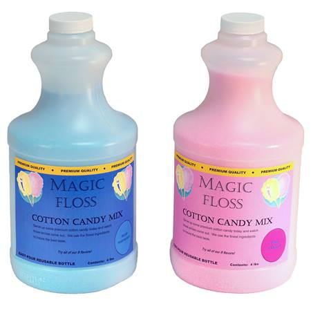 Magic Cotton Candy Floss Mixed Flavors