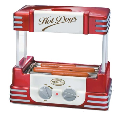 Retro Hot Dog Roller Machine