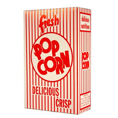 Classic Popcorn Box-Medium .95 oz