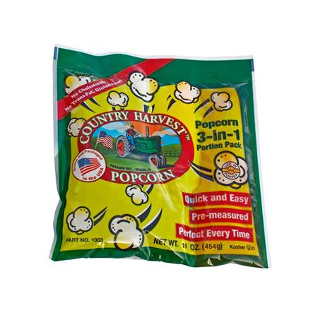 Country Harvest 12 oz Popcorn Pack - 72 Packs