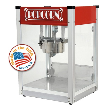 Gatsby Red 4 ounce Popcorn Machine