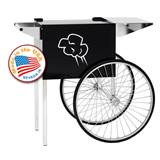 Medium Black Contempo Popcorn Cart