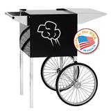 Small Black Contempo Popcorn Cart