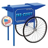 Medium Blue Sno Cone Cart