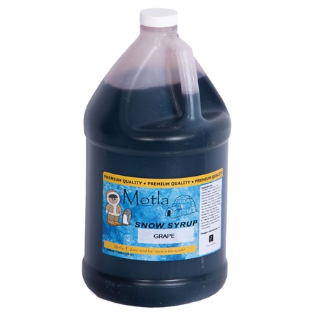 Sno Cone Syrup Grape Gallon