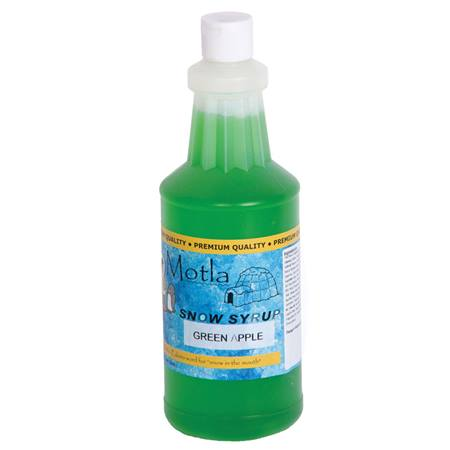 Sno Cone Syrup Green Apple Quart