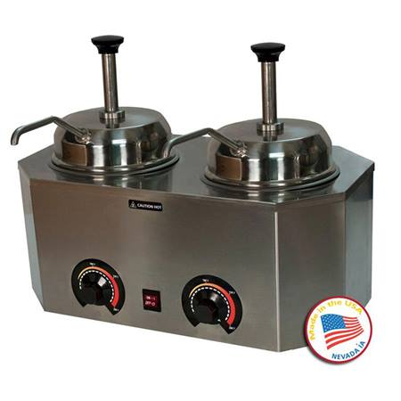 Dual Pro-Deluxe Warmer with Pumps