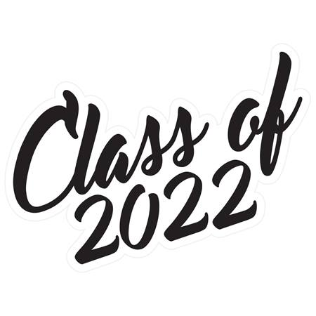 Class of 2022 Temporary Tattoos - Script Font