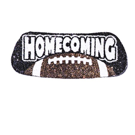 Football Homecoming Glitter EyeBlacks